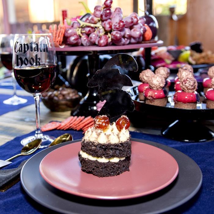 Captain Hook Table Setting from a Maleficent's Villain Halloween Party on Kara's Party Ideas | KarasPartyIdeas.com (6)