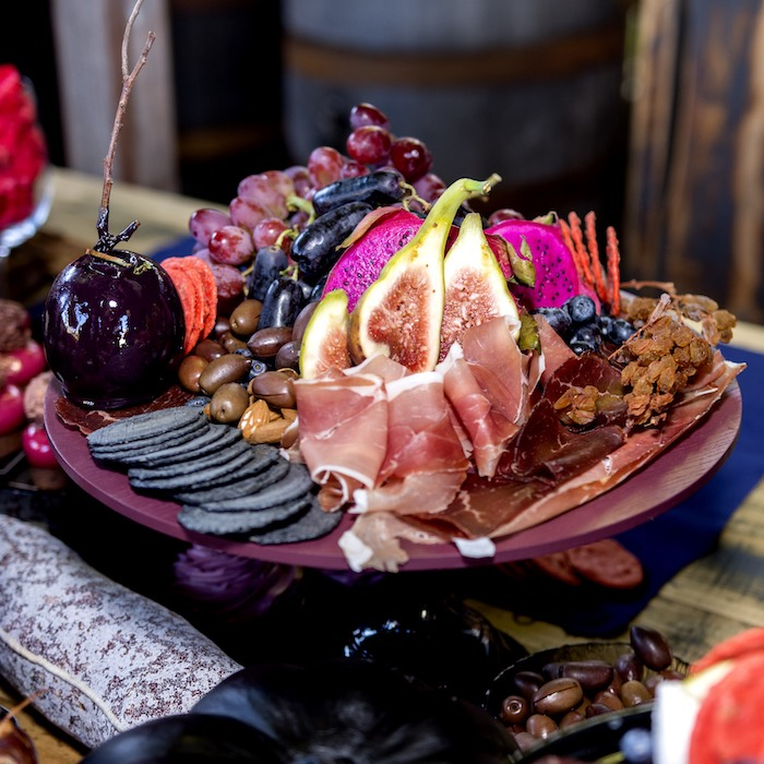 Halloween Charcuterie Plate from a Maleficent's Villain Halloween Party on Kara's Party Ideas | KarasPartyIdeas.com (30)