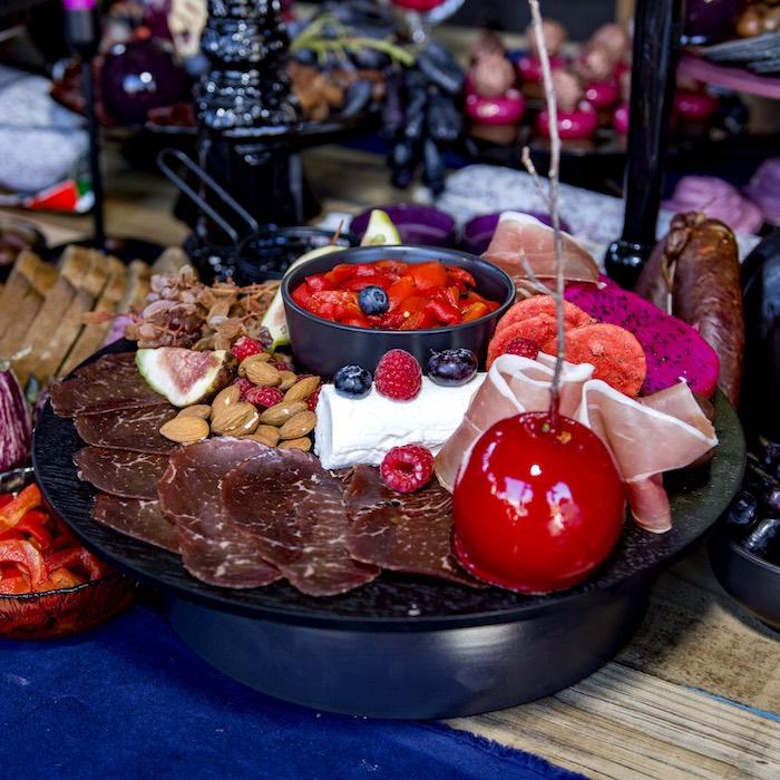 Halloween Charcuterie Plate from a Maleficent's Villain Halloween Party on Kara's Party Ideas | KarasPartyIdeas.com (28)