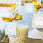 Mint & Gold Party on Kara's Party Ideas | KarasPartyIdeas.com (2)