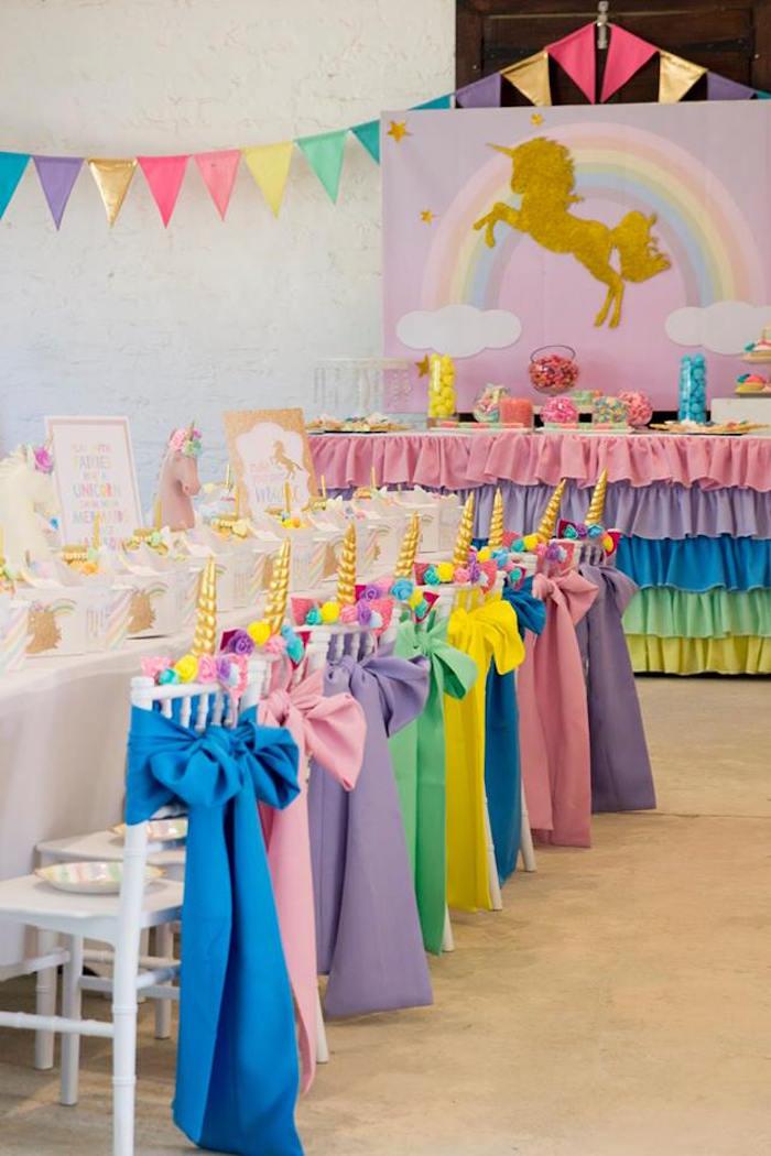 Pastel Rainbow Unicorn Birthday Party on Kara's Party Ideas | KarasPartyIdeas.com (25)