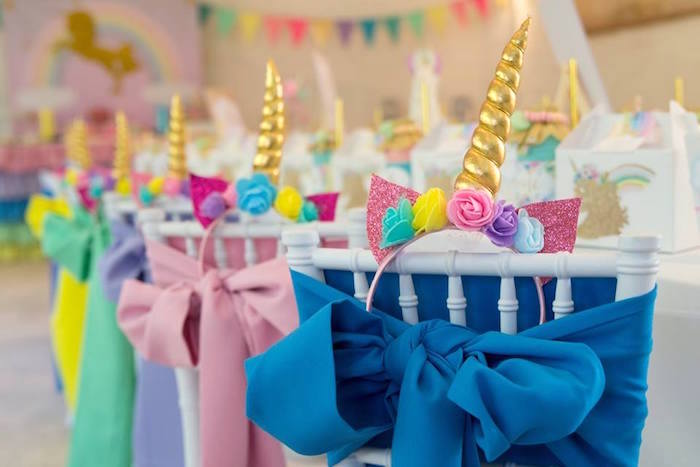 Kara S Party Ideas Pastel Rainbow Unicorn Birthday Party