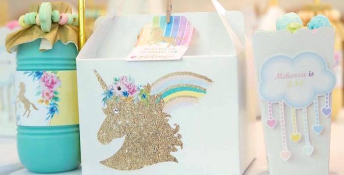 Pastel Rainbow Unicorn Birthday Party on Kara's Party Ideas | KarasPartyIdeas.com (1)
