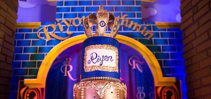 Royal Prince Birthday Party on Kara's Party Ideas | KarasPartyIdeas.com (1)