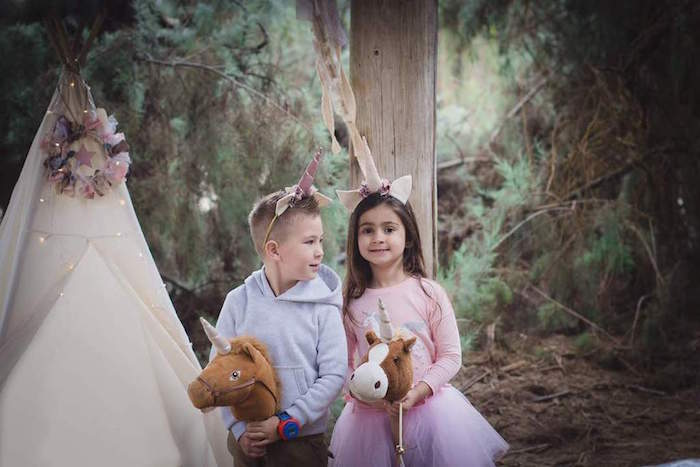 Rustic Unicorn Birthday Party on Kara's Party Ideas | KarasPartyIdeas.com (12)