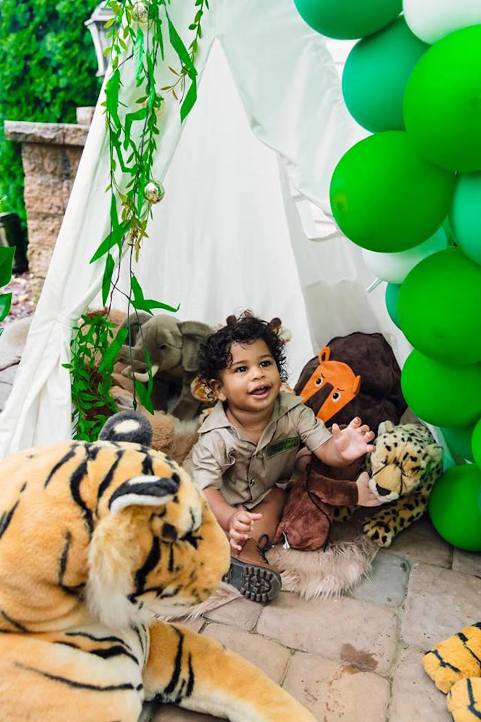 Safari Wild ONE Birthday Party on Kara's Party Ideas | KarasPartyIdeas.com (33)