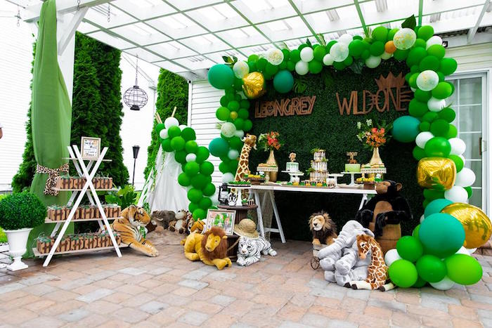 Safari Wild ONE Birthday Party on Kara's Party Ideas | KarasPartyIdeas.com (21)