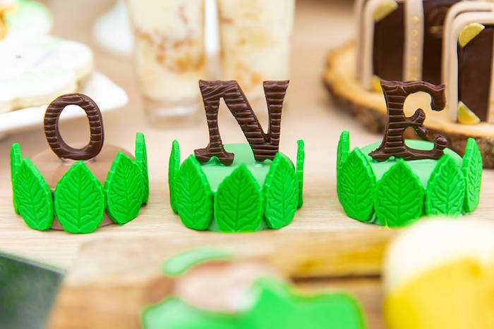 Safari Oreos from a Safari Wild ONE Birthday Party on Kara's Party Ideas | KarasPartyIdeas.com (8)