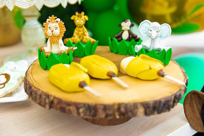Safari Sweets from a Safari Wild ONE Birthday Party on Kara's Party Ideas | KarasPartyIdeas.com (4)
