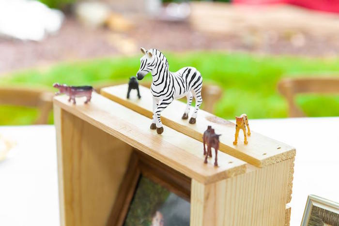 Plastic Safari Animals from a Safari Wild ONE Birthday Party on Kara's Party Ideas | KarasPartyIdeas.com (39)