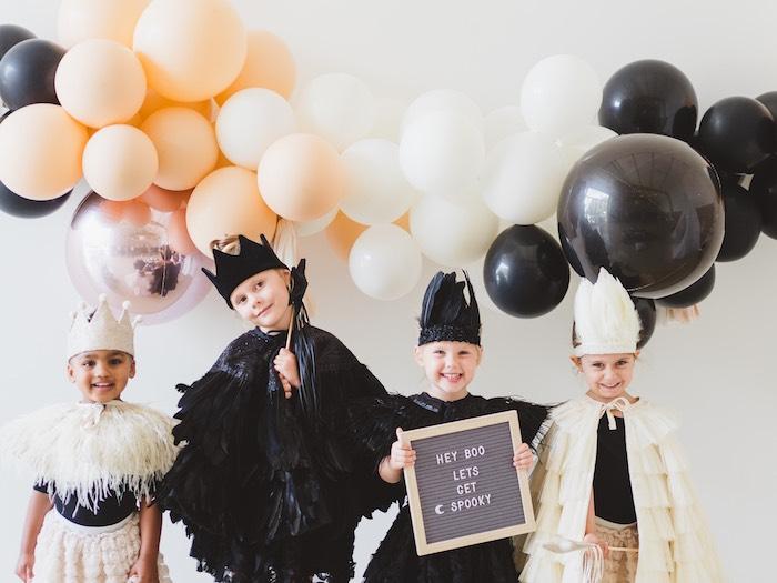 Spooky Swan Soiree on Kara's Party Ideas | KarasPartyIdeas.com (37)