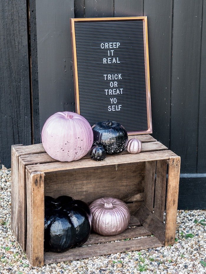 Chic Halloween Party Signage from a Spooky Swan Soiree on Kara's Party Ideas | KarasPartyIdeas.com (36)