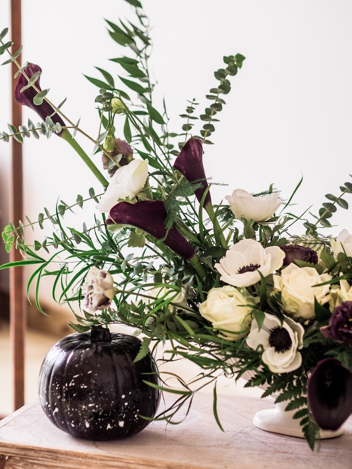 Blooms from a Spooky Swan Soiree on Kara's Party Ideas | KarasPartyIdeas.com (32)