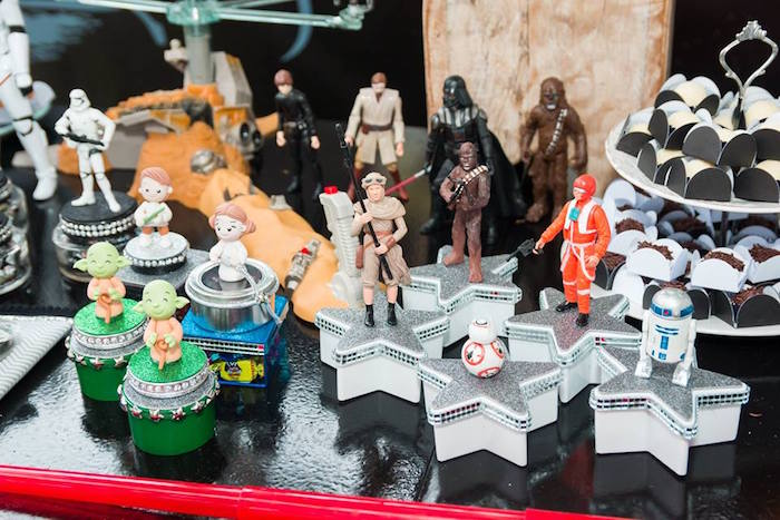 Star Wars Party Favor Boxes from a Star Wars Birthday Party on Kara's Party Ideas | KarasPartyIdeas.com (26)