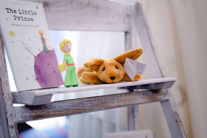 The Little Prince Book + Decor from The Little Prince Birthday Party on Kara's Party Ideas | KarasPartyIdeas.com (19)