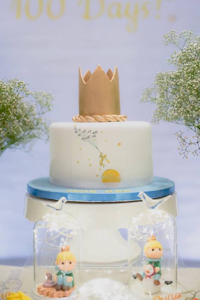 Little Prince Cake from The Little Prince Birthday Party on Kara's Party Ideas | KarasPartyIdeas.com (15)