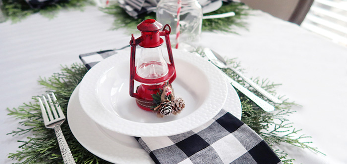Winter Plaid Indoor Camping Party on Kara's Party Ideas | KarasPartyIdeas.com (3)