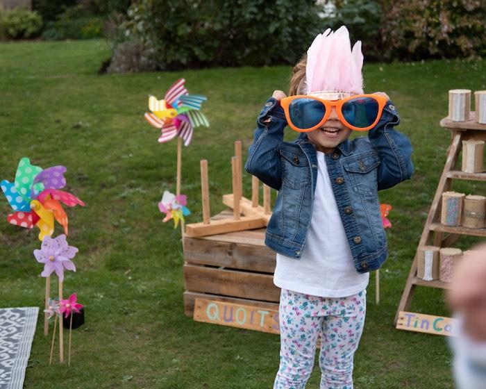 """Kidchella"" Boho Coachella Birthday Party for Kids on Kara's Party Ideas   KarasPartyIdeas.com (9)"