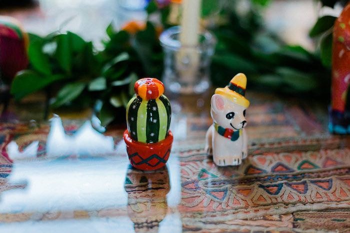 Salt & Pepper Shakers from an Alebrije Mexican Folk Art Inspired Baby Shower on Kara's Party Ideas | KarasPartyIdeas.com (28)