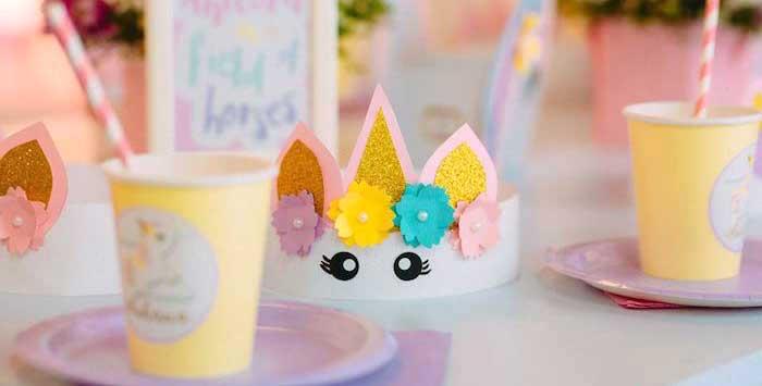 Baby Unicorn 1st Birthday Party on Kara's Party Ideas | KarasPartyIdeas.com (6)