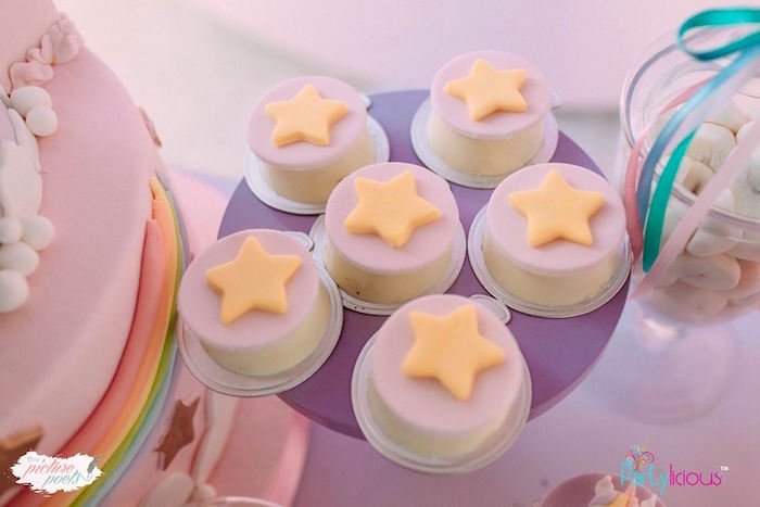 Star - Chocolate Covered Oreos from a Baby Unicorn 1st Birthday Party on Kara's Party Ideas | KarasPartyIdeas.com (36)