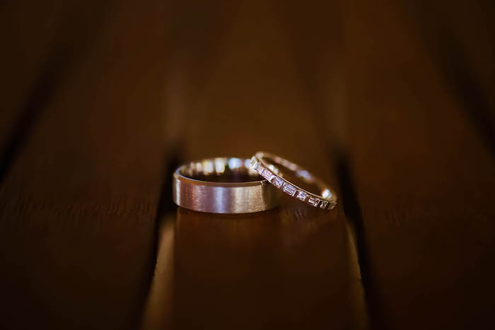 Wedding Rings from a Beautiful Peninsula Wedding on Kara's Party Ideas | KarasPartyIdeas.com (18)