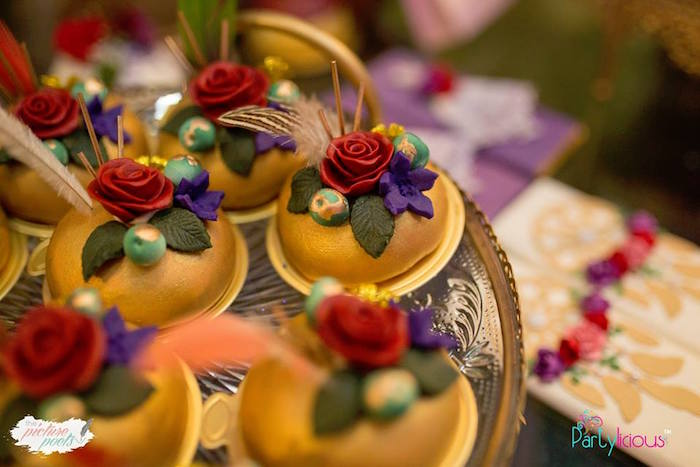 Boho Themed Desserts from a Boho Vintage 21st Birthday Party on Kara's Party Ideas | KarasPartyIdeas.com (26)