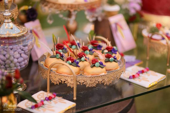 Boho Themed Desserts from a Boho Vintage 21st Birthday Party on Kara's Party Ideas | KarasPartyIdeas.com (25)