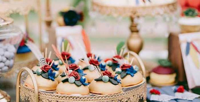 Boho Vintage 21st Birthday Party on Kara's Party Ideas | KarasPartyIdeas.com (2)