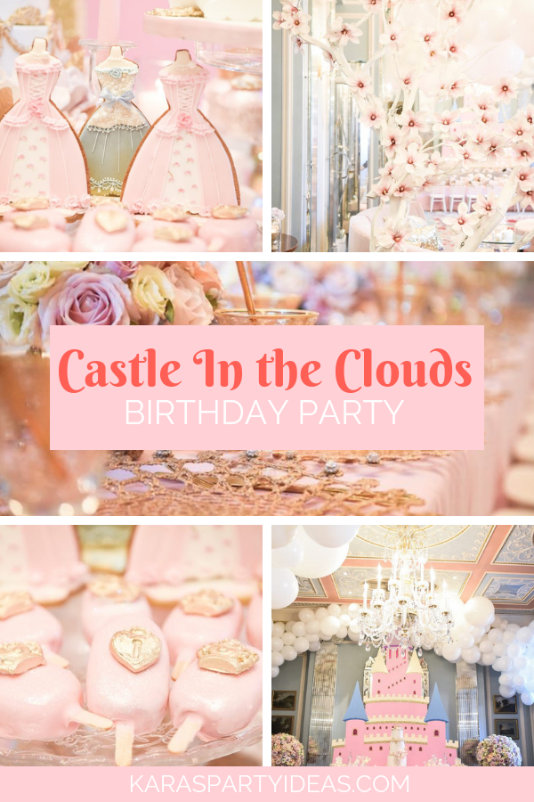 Castle In the Clouds Birthday Party via Kara's Party Ideas - KarasPartyIdeas.com