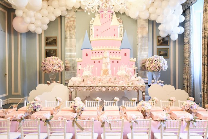 Castle in the Clouds Birthday Party on Kara's Party Ideas | KarasPartyIdeas.com (21)
