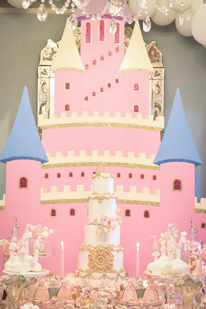 Castle in the Clouds Birthday Party on Kara's Party Ideas | KarasPartyIdeas.com (17)