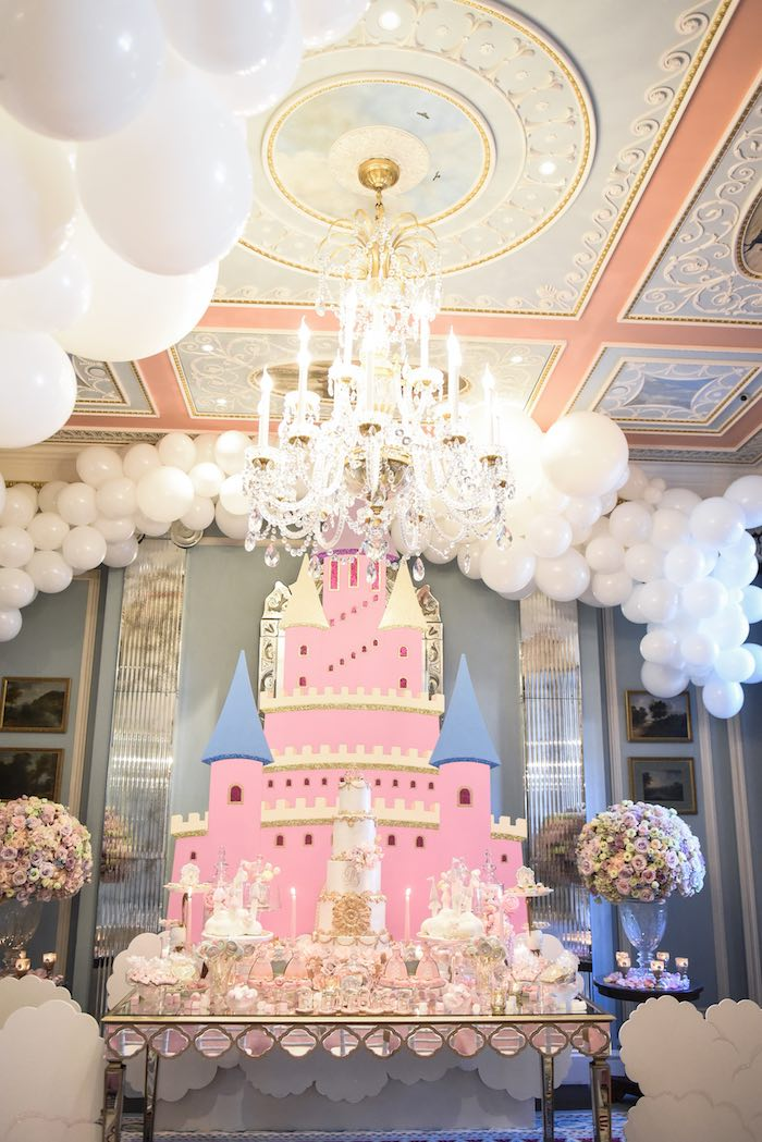 Castle in the Clouds Birthday Party on Kara's Party Ideas | KarasPartyIdeas.com (16)