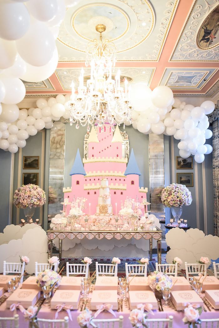 Castle in the Clouds Birthday Party on Kara's Party Ideas | KarasPartyIdeas.com (15)