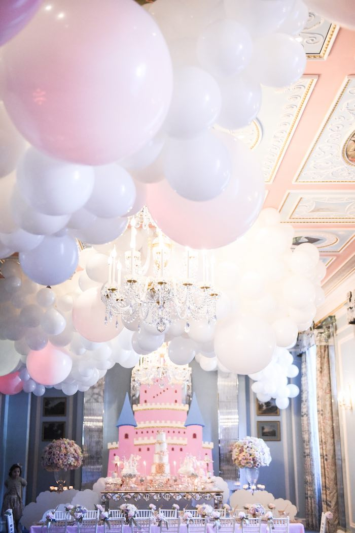 Castle in the Clouds Birthday Party on Kara's Party Ideas | KarasPartyIdeas.com (14)