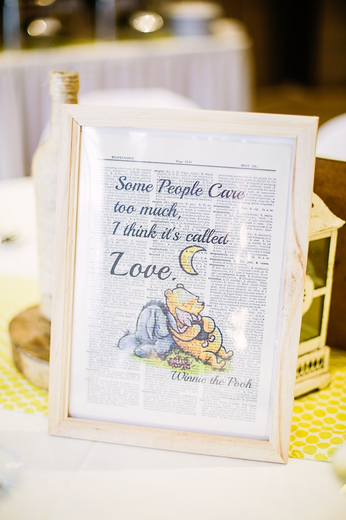 Winnie the Pooh Print from a Christopher Robin + Winnie the Pooh Birthday Party on Kara's Party Ideas | KarasPartyIdeas.com (11)