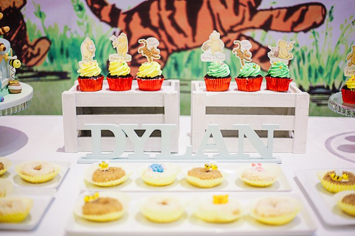 Winnie the Pooh-inspired Sweets from a Christopher Robin + Winnie the Pooh Birthday Party on Kara's Party Ideas | KarasPartyIdeas.com (21)