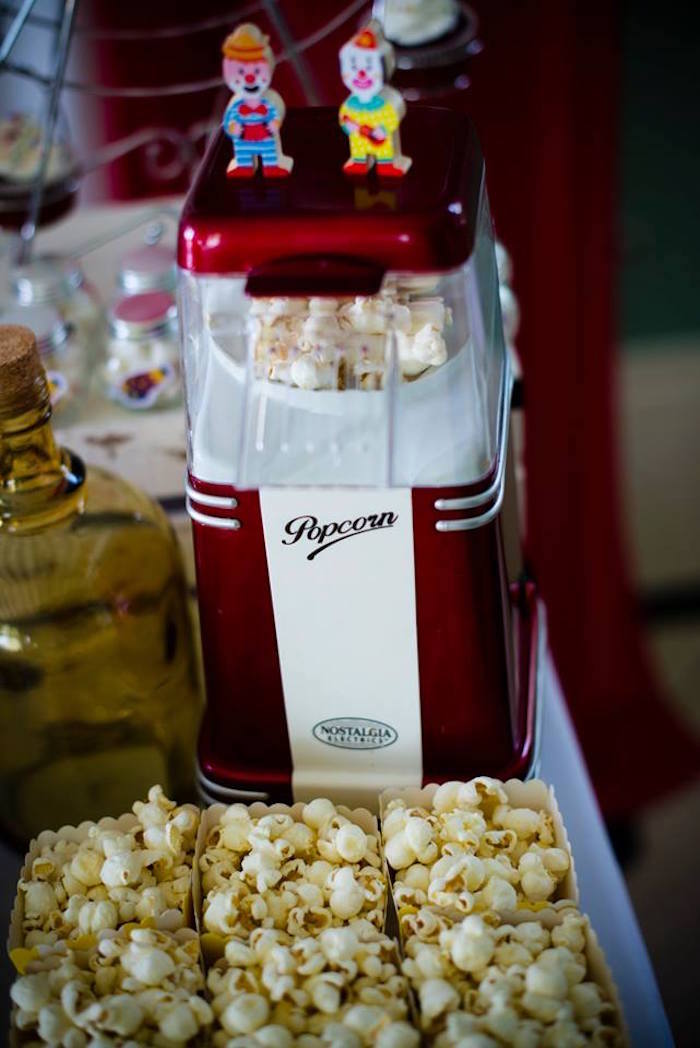 Popcorn from a Classic Circus Birthday Party on Kara's Party Ideas | KarasPartyIdeas.com (16)