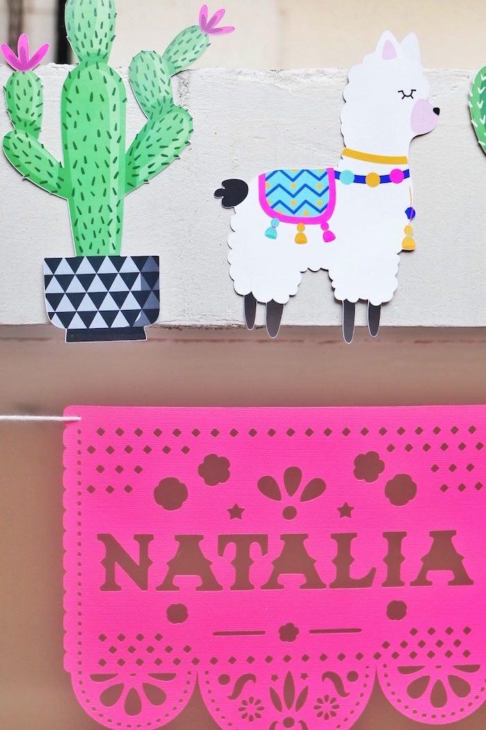 Colorful 1st Birthday Fiesta on Kara's Party Ideas | KarasPartyIdeas.com (7)