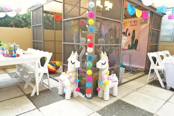 Colorful 1st Birthday Fiesta on Kara's Party Ideas | KarasPartyIdeas.com (27)