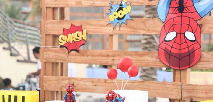 Comic Book Pop Art Spider Man Birthday Party on Kara's Party Ideas | KarasPartyIdeas.com (2)