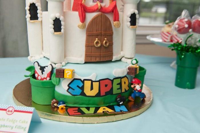 Prime Karas Party Ideas Diy Super Mario Bros Birthday Party Karas Funny Birthday Cards Online Elaedamsfinfo