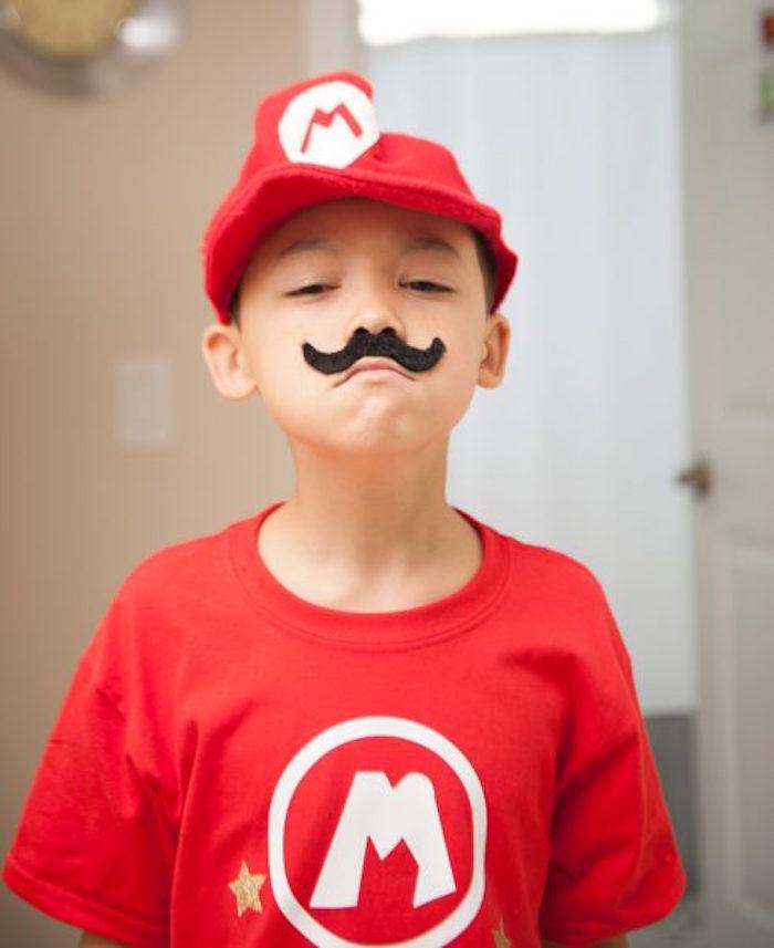 Mario from a DIY Super Mario Bros Birthday Party on Kara's Party Ideas | KarasPartyIdeas.com (9)