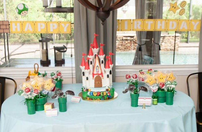 DIY Super Mario Bros Birthday Party