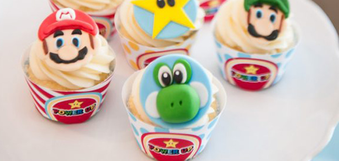 DIY Super Mario Bros Birthday Party on Kara's Party Ideas | KarasPartyIdeas.com (1)