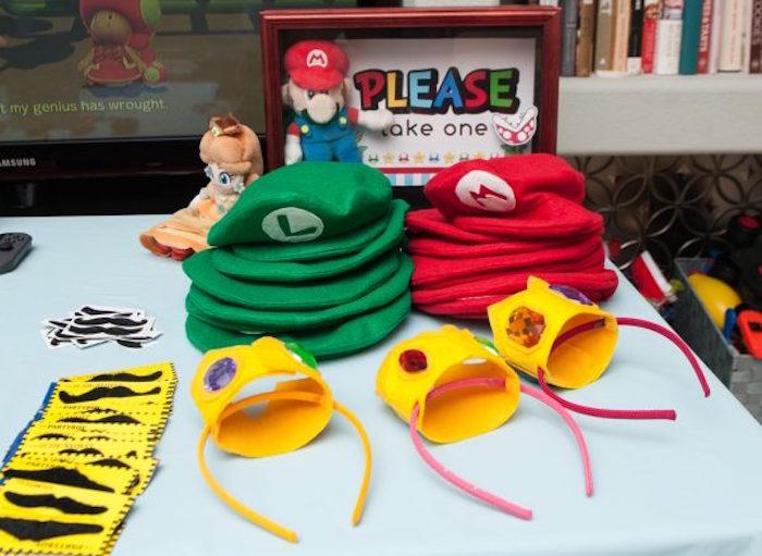 Super Mario Bros Party Favors from a DIY Super Mario Bros Birthday Party on Kara's Party Ideas | KarasPartyIdeas.com (26)