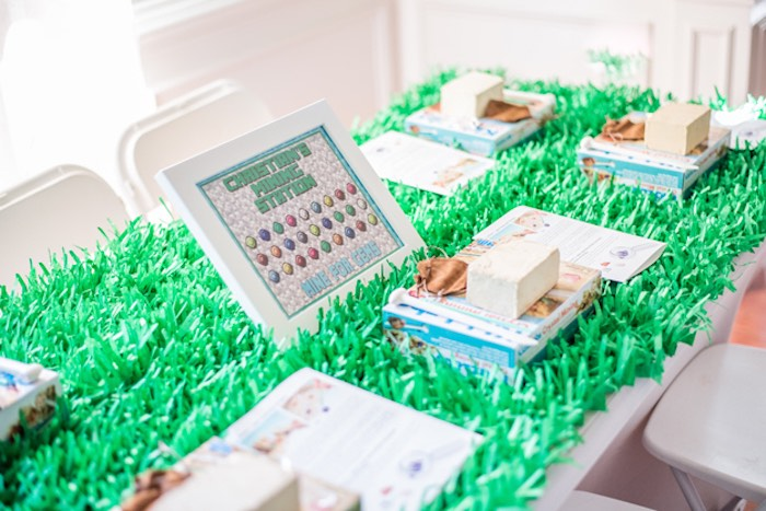 Minecraft Themed Party + Activity Table from an Epic Minecraft Birthday Party on Kara's Party Ideas | KarasPartyIdeas.com (26)