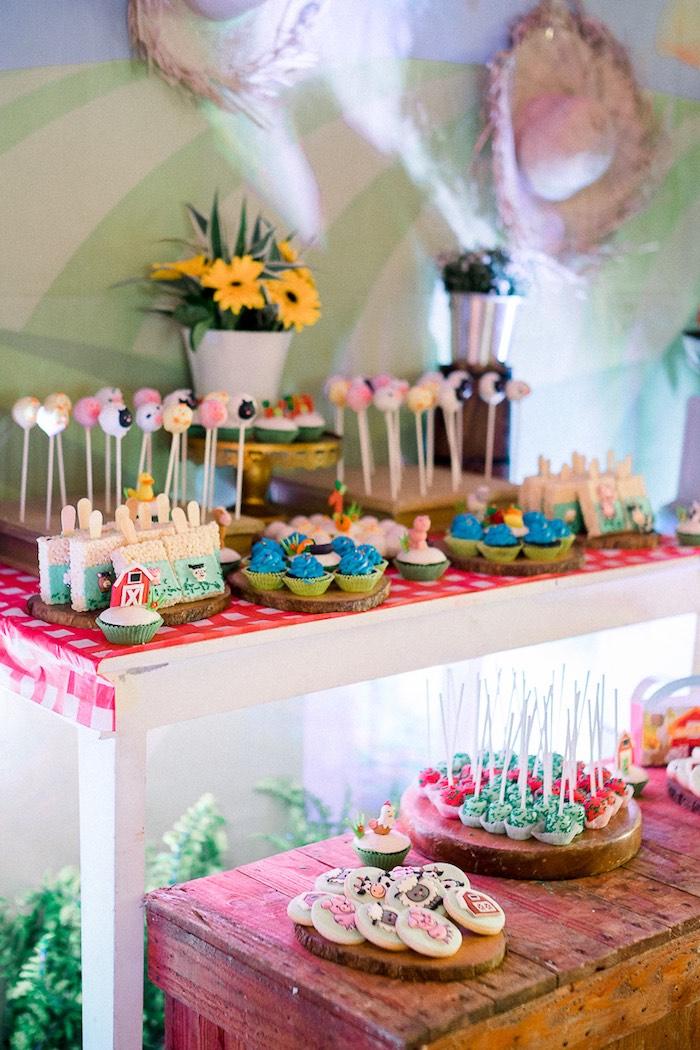 Kara S Party Ideas Farm Animal Birthday Party Kara S