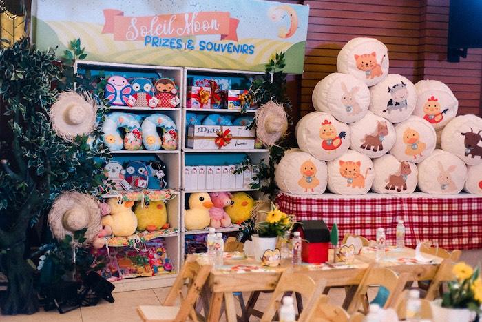 Prizes & Souvenirs from a Farm Animal Birthday Party on Kara's Party Ideas   KarasPartyIdeas.com (5)