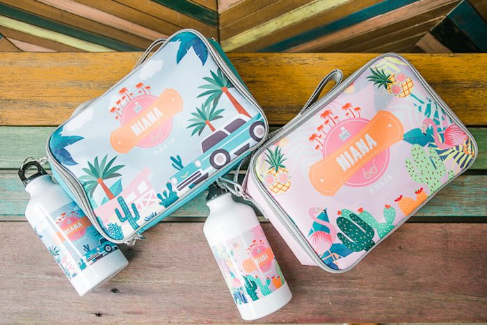Tropical Party Favors + Pouches from an Island Tropical Birthday Party on Kara's Party Ideas | KarasPartyIdeas.com (33)
